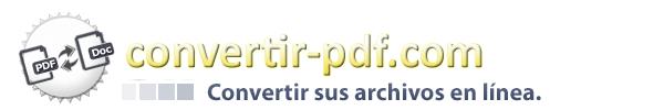 Convertir todos los archivos y documentos - convertir-pdf.com